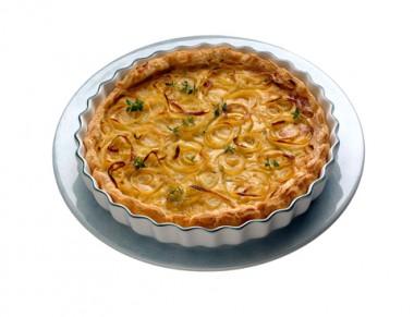 Receita de Torta de Cebola - Torta-de-cebola-380x291