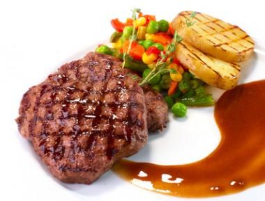 Receita de Bife com Legumes - Bife-com-legumes-380x289