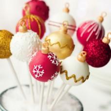 Cake Pops de Natal