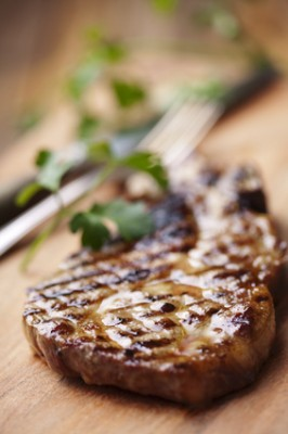 Receita de Carne Grelhada - Chuleta-grelhada-266x400