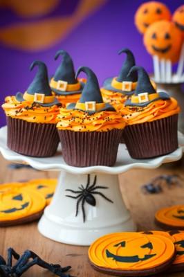 Receita de Cupcake Halloween - Cupcake-Halloween-266x400
