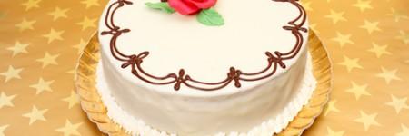 Bolo de Chocolate Branco