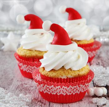 Receita de Cupcake Noel - Cupcake-noel