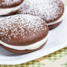 Whoopie Pie de Chocolate