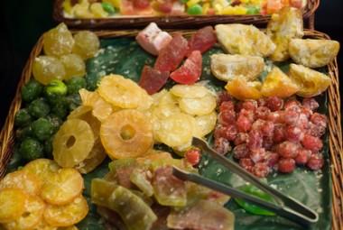 Crystallized fruits