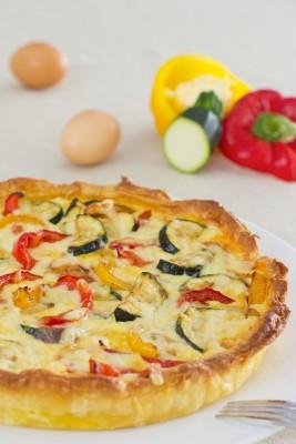 Receita de Quiche Vegetariano - Quiche-vegetariano-267x400
