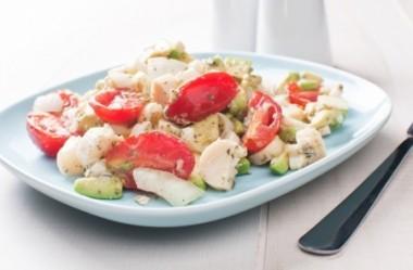 Salada especial de palmito