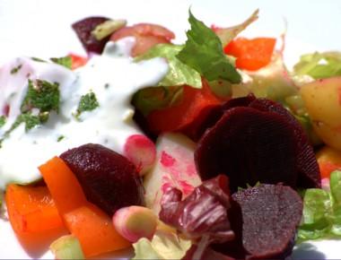 Receita de Salada Quente - Salada-quente-380x290
