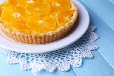 Receita de Torta Caseira de Laranja - Torta-caseira-de-laranja-380x254