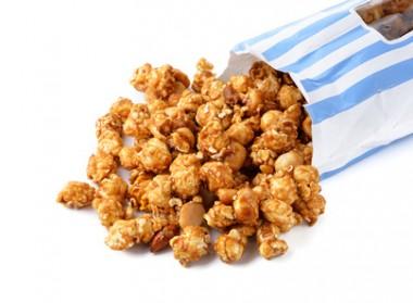 Receita de Pipoca Caramelada - Pipoca-caramelada-380x279