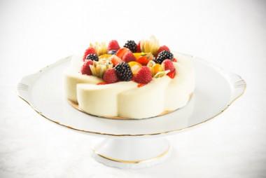 Receita de Pudim de Queijo com Frutas - Pudim-de-queijo-com-frutas-380x254
