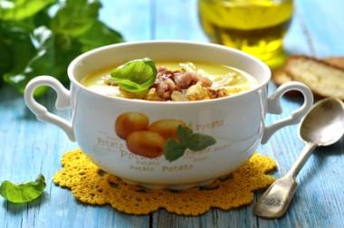 Receita de Sopa de Batata com Bacon - Sopa-de-batata-com-bacon-380x252