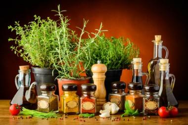 Receita de Azeite, Vinagre e Sal Aromáticos - Azeite-Vinagre-e-Sal-Aromáticos-380x254