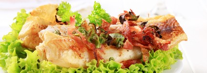 Bacalhau com Bacon