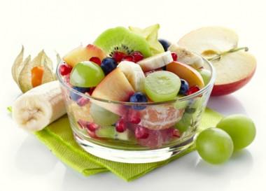 Receita de Salada de Frutas com Romã - Salada-de-frutas-com-romã-380x273