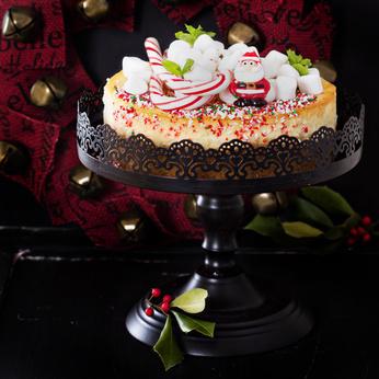 Receita de Cheesecake Natalino - Cheesecake-Natalino