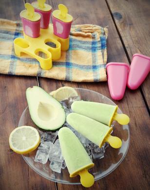 Receita de Picolé Diet de Abacate - Picolé-diet-de-abacate