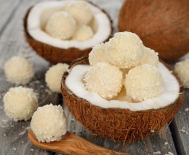Receita de Trufa Ouriço de Coco - Ouriço-de-coco-380x312