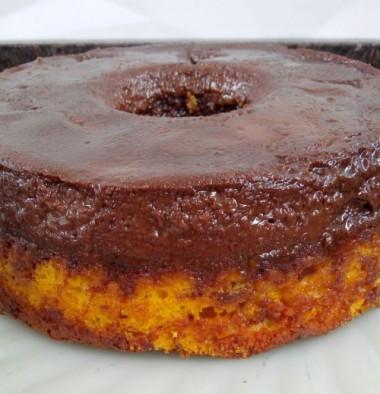 Receita de Bolo Pudim de Chocolate (Sem Banho-Maria) - Bolo-Pudim2-380x394