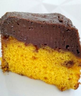 Receita de Bolo Pudim de Chocolate (Sem Banho-Maria) - Bolo-Pudim3-340x400