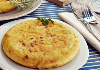 Receita de Omelete Assado - Omelete-assado-380x268