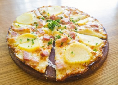 Receita de Pizza de Batata - Pizza-de-batata-380x274