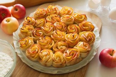 Receita de Rosas de Maçã - Rosas-de-maçã-380x254