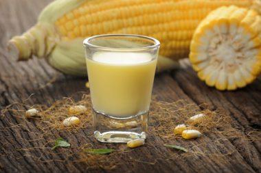 Receita de Batida de Milho Verde e de Paçoca - Batida-de-Milho-Verde-e-de-Paçoca-380x253