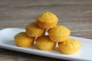 Receita de Muffin de Fubá - Muffin-de-fubá-380x254