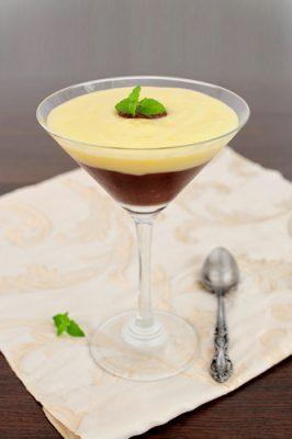 Receita de Creme de Chocolate e Baunilha - Creme-de-chocolate-e-baunilha-266x400