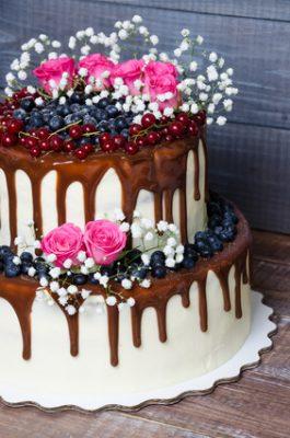 Receita de Drip Cake - Bolo Champanhe - Drip-cake-265x400