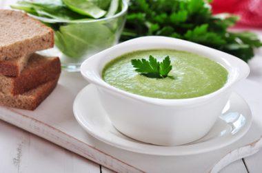Receita de Sopa de Espinafre - Sopa-de-espinafre-380x252