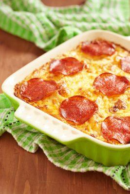 Receita de Lasanha de Pepperoni - Lasanha-de-pepperoni-267x400