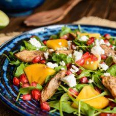 Salada de Rúcula com Peru