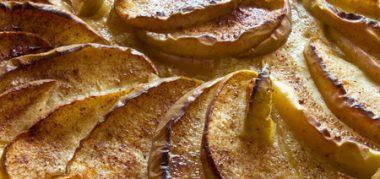 Receita de Torta Rústica de Maçã - Torta-rústica-de-maçã-380x179