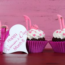 Cupcake Gourmet Dia da Mulher