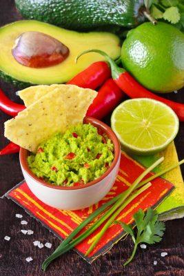 Receita de Guacamole - Guacamole-267x400