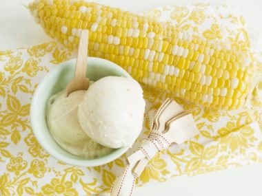 Receita de Sorvete de Milho Verde - Sorvete-de-milho-verde-380x285