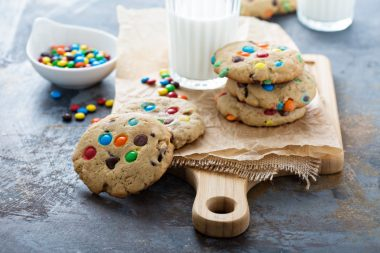 Receita de Cookies Americanos - Cookie-americano-380x253