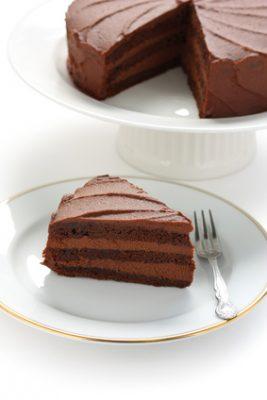 Receita de Bolo do Diabo - Devil's Food Cake - Devils-food-cake-Bolo-do-diabo-267x400