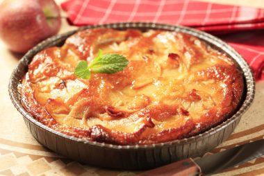 Receita de Torta Dourada de Maçã - Torta-dourada-de-maçã-380x254