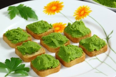Receita de Torradas Verdes - torradas-verdes-380x253
