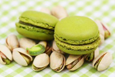 Receita de Macaron de Pistache - Macaron-de-pistache-380x253