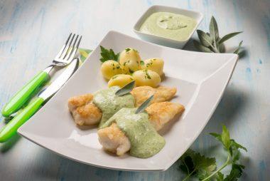Receita de Filé de Peixe com Molho de Iogurte - Filé-de-peixe-com-molho-de-iogurte-380x254