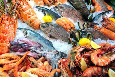 Receita de Peixes e Frutos do Mar - Peixes-e-frutos-do-mar-380x256