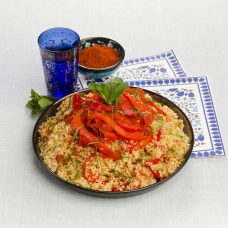 Cuscuz Marroquino com Tomates