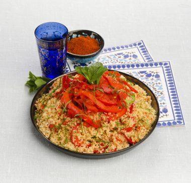 Receita de Cuscuz Marroquino com Tomates - Cuzcuz-Marroquino-com-Tomates-380x363