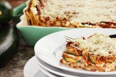 Receita de Lasanha de Legumes com Queijo - Lasanha-de-legumes-com-queijo-380x253