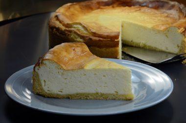 Receita de Cheesecake Alemão - Cheesecake-alemão-380x252
