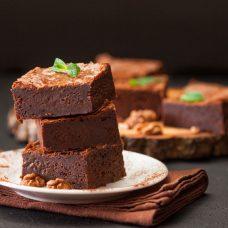 Brownie Fácil de Nozes